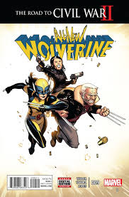 All New Wolverine #9 Cover
